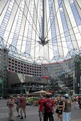 Berlin  Atrium des Sony-Centers am Potsdamer Platz