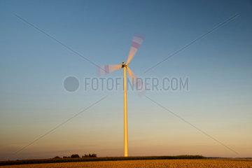 Windkraftpark-Baustelle Tomerdingen