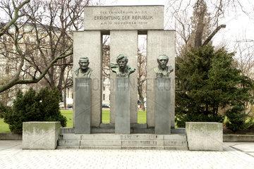Denkmal zur Errichtung der Oesterreichischen Republik 1918
