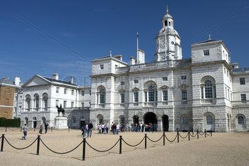 London - Das prachtvolle Gebaeude der Horse Guards
