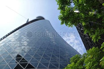 Mode-Gakuen Spiral Towers in Nagoya  Japan