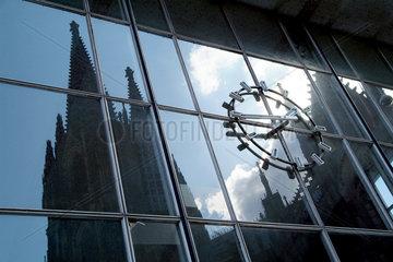 Koelner Dom und Hauptbahnhof