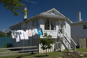 Einfaches Einfamilienhaus am Niagara River