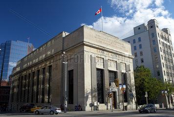 Ottawa - Das historische Gebaeude der Bank of Montreal