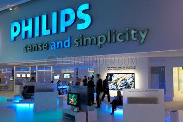 Berlin - Messestand von Philips auf der Internationalen Funkaustellung