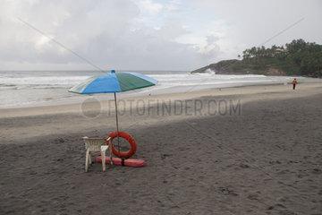 Strand von Kovalam in Indien