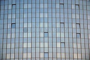 Glasfassade eine Ulmer Hotels