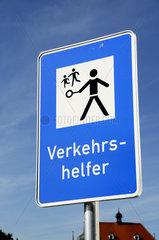 Verkehrszeichen Verkehrshelfer