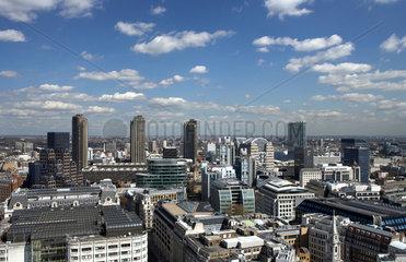 London - Blick ueber die Innenstadt