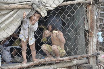 Armut in Kambodscha