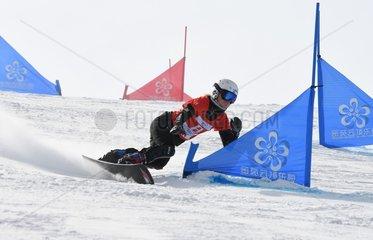 (SP)CHINA-HEBEI-ZHANGJIAKOU-FIS SNOWBOARD-PARALLEL SLALOM(CN)