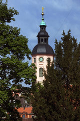 Baden-Baden  der Turm der Stiftskirche