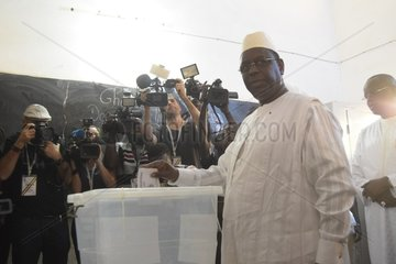 SENEGAL-DAKAR-PRESIDENTIAL ELECTION-MACKY SALL
