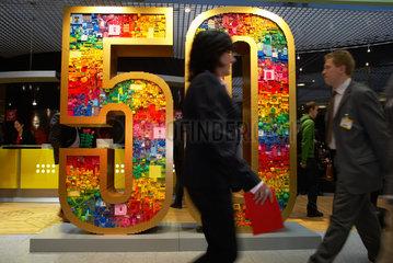 Nuernberg - Messestand von Lego auf der Spielwarenmesse