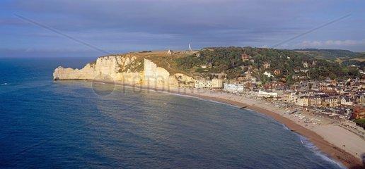 Alabasterkueste in der Normandie