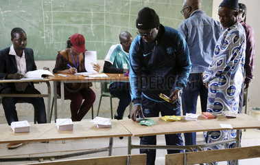 SENEGAL-DAKAR-PRESIDENTIAL ELECTION-KICKOFF