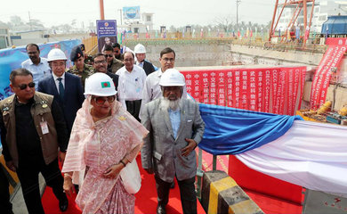 BANGLADESH-CHATTOGRAM-CHINA FUNDED-RIVER TUNNEL