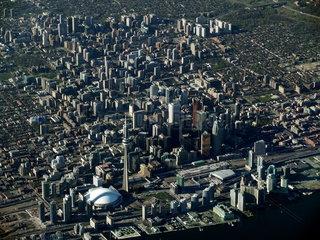 Luftaufnahme von Toronto