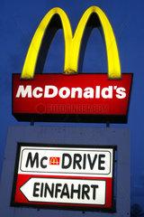 Logo eines McDonald's Restaurants