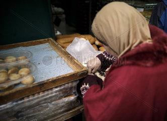 Baeckerei in der Altstadt von Jerusalem