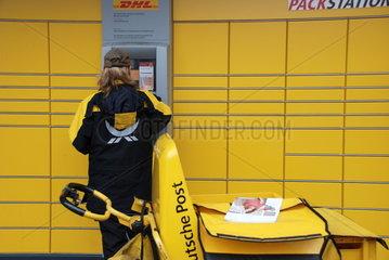 Packstation der Deutschen Post