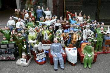 Personenkult: Mao Zedong Figuren