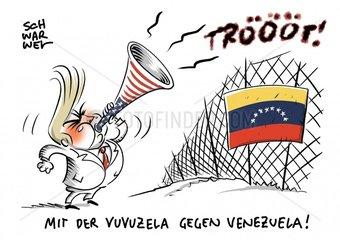 Venezuela : Mehrere Tote bei Maduros Blockade gegen Hilfsgueter