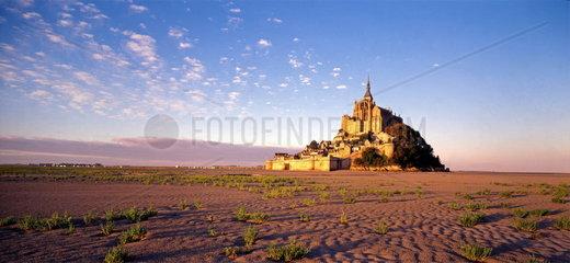 Mont Saint Michel  Normandie  Frankreich