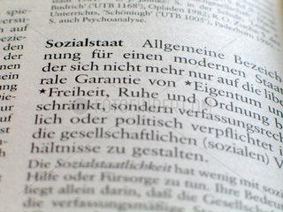 Lexikon: Sozialstaat