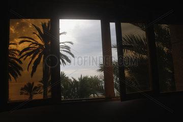 Zimmer mit Ausblick im Malaga