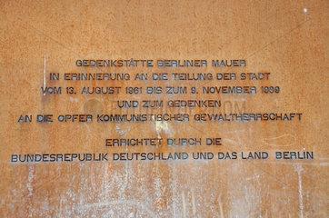 Berlin: ehemaliger Todesstreifen der Berliner Mauer