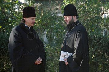 Odessa  Priester russisch-orthodoxen Uspensky Klosters im Portrait