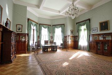 Liwadija  ein Raum des Weissen Palastes  Ort der Jalta-Konferenz