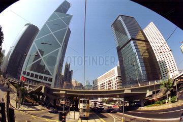 Hong Kong  Stadtansicht