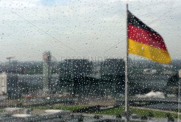 Berlin im Regen