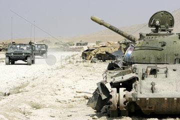 Panzerfriedhof bei Kabul