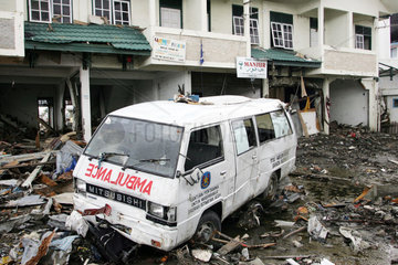 Banda Aceh nach dem Tsunami