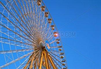 Riesenrad  Koeln  Nordrhein-Westfalen  Deutschland / Giant-wheel  Cologne  North Rhine-Westphalia  Germany