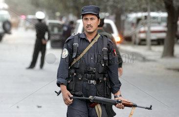Afghanische Polizei  Kabul