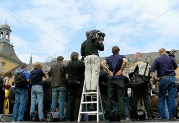 Pressefotografen beim Bonner Universitaetsfest