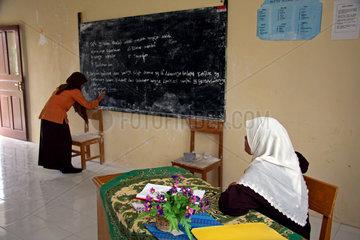 Indonesien: Deutsche Tsunami-Hilfe: Schule in Suak Timah