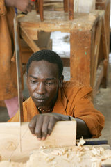 Ausbildung fuer ehemalige Kindersoldaten aus dem Sued-Sudan