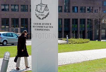 Der Europaeische Gerichtshof in Luxemburg
