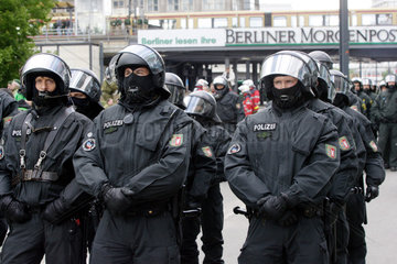 NPD Aufmarsch in Berlin
