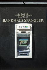 Bankhaus Spaengler  Geldautomat