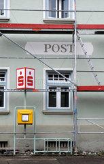 Renovierung der Post