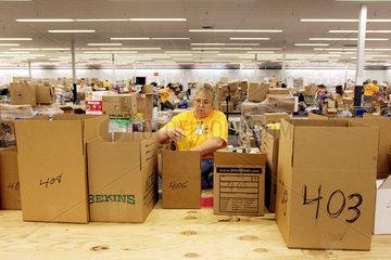 Hilfsgueterzuordnung nach dem Hurrikan Katrina
