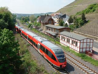 Haltepunkt Heimersheim der Ahrtalbahn