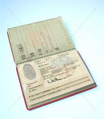 Hamburg  biometrischer Reisepass