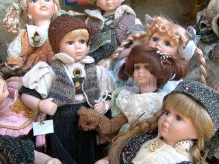 Puppengeschaeft  Rothenburg ob der Tauber